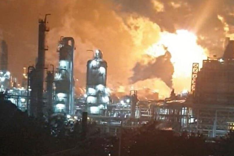 韩国一家化工厂发生爆炸 至少31人受伤