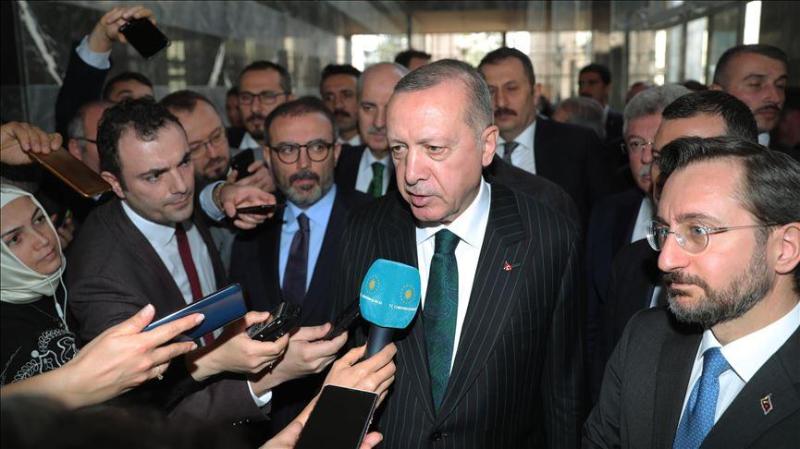 Эрдоган поделился ожиданиями от встречи с Путиным