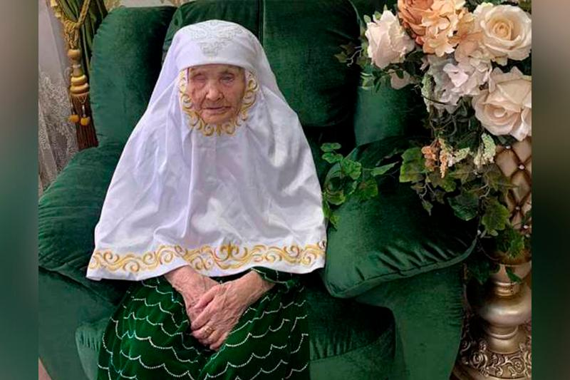 Столетний юбилей отметила жительница района Аққулы Павлодарской области
