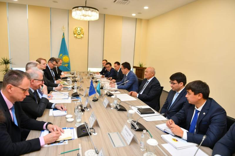 EU ambassadors impressed with construction paces in Turkestan