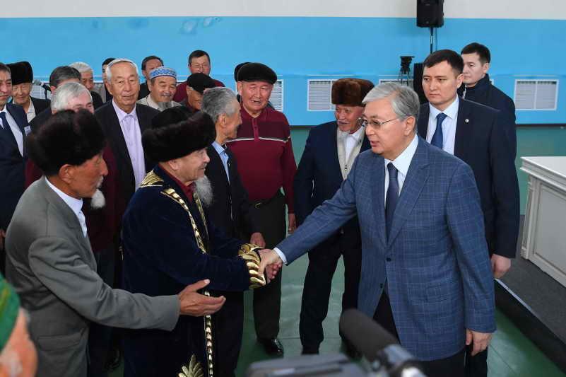 Даурен Абаев назвал знаковой поездку Главы государства в Кордай