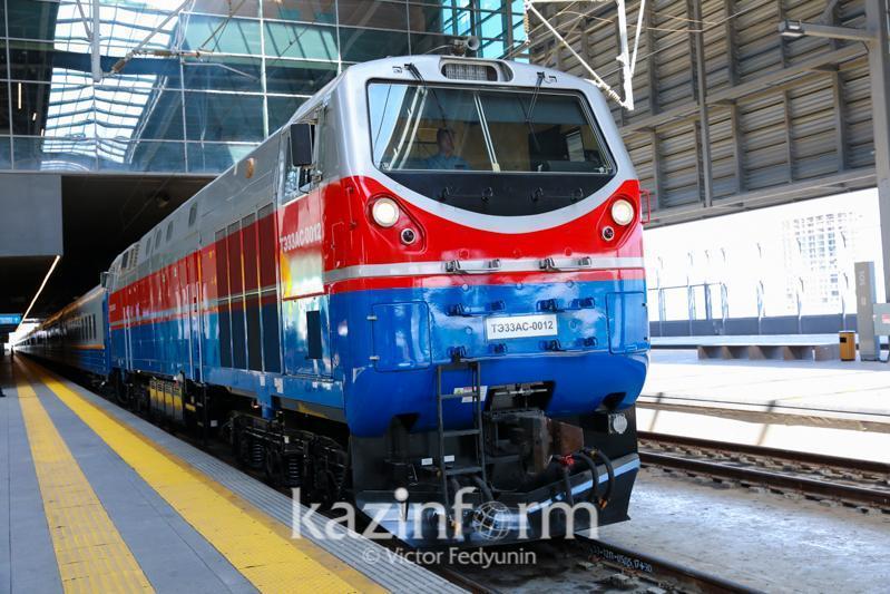 Изменен график движения некоторых пассажирских поездов в Казахстане