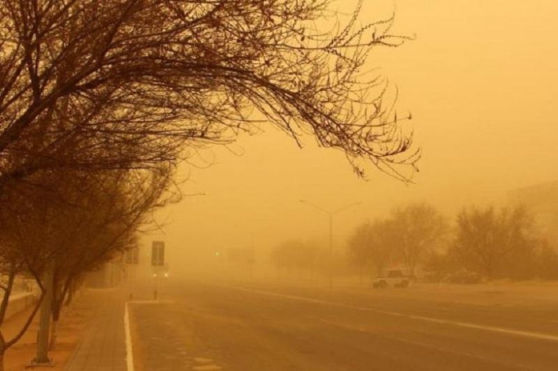 Dust storm heading to Atyrau region