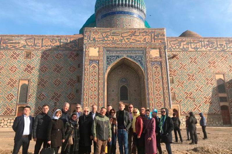 EU member states' ambassadors pay visit to Shymkent and Turkestan