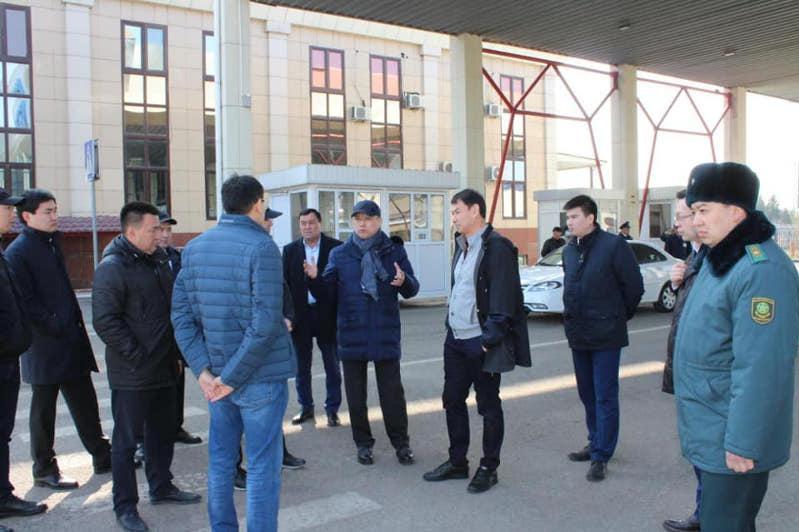 Qazaqstan men Ózbekstan shekarasynda iri saýda ortalyǵy salynady