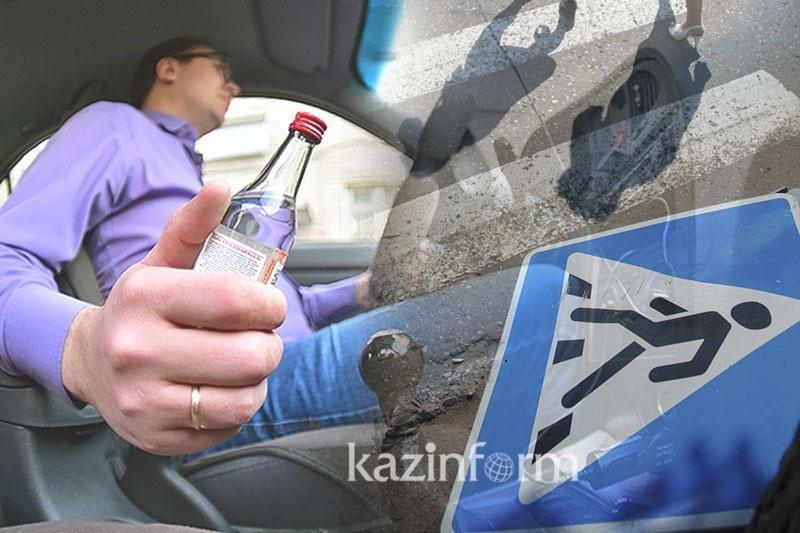 На три года лишили свободы совершившего в алкогольном опьянении смертельный наезд алматинца