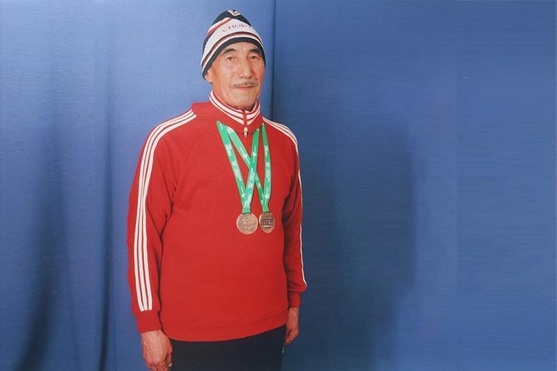 Қазалыда тұратын 83 жастағы желаяқ қария Түркиядағы жарыста чемпион атанды