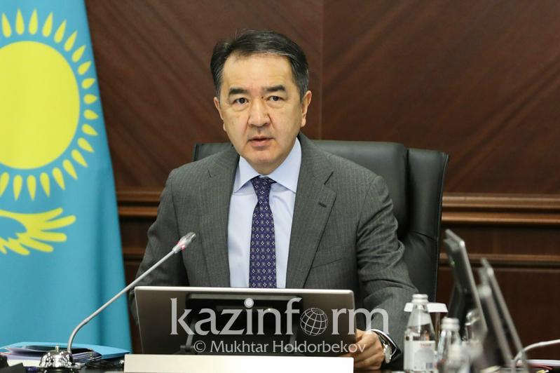 Сағынтаев Алматының экономикалық ахуалын бизнес өкілдерімен талқылады