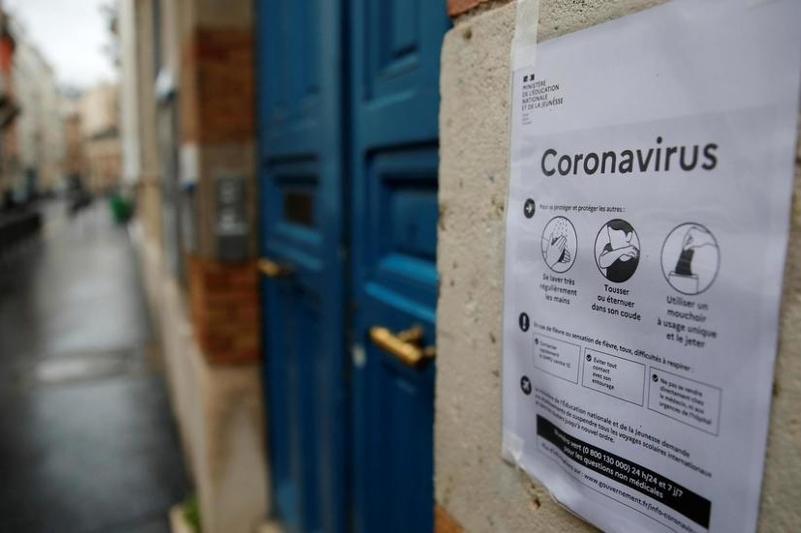 Коронавирус: Францияда мектептер, университеттер мен балабақшалар жабылып жатыр