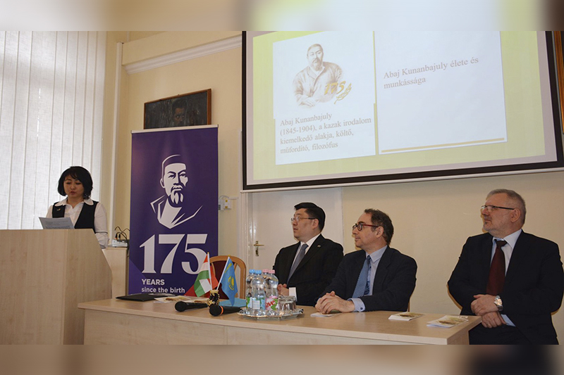 Abai readings were held at the Hungarian University of Szeged
