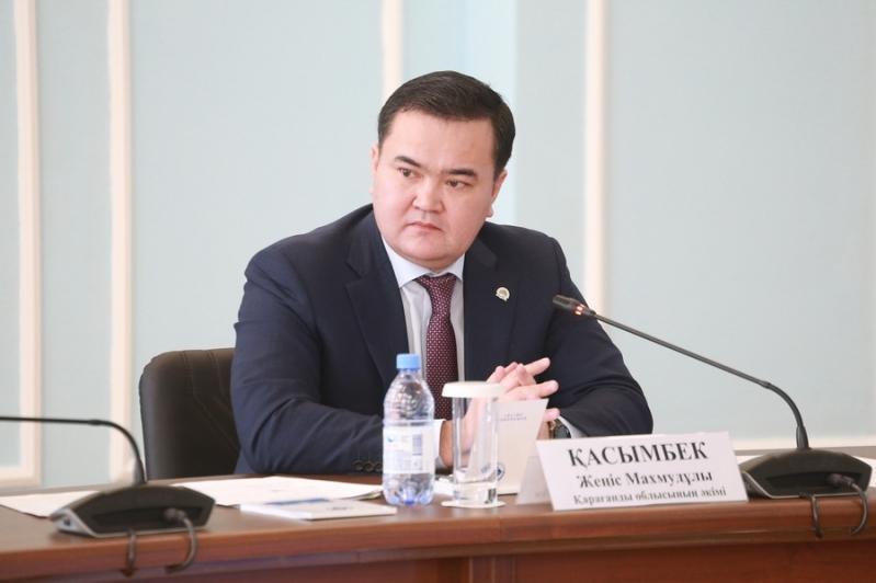 Женис Касымбек рассказал о жизнедеятельности Карагандинской области в период чрезвычайного положения