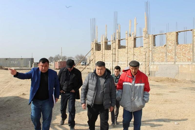 Сарыағаш ауданының әкімі ауылдарды табиғи газға қосу жұмыстарымен танысты