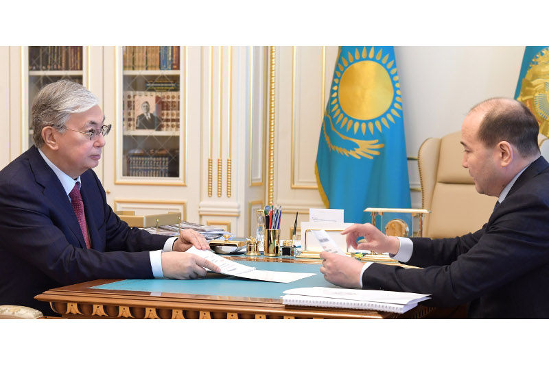 Head of State received Prosecutor General Gizat Nurdauletov