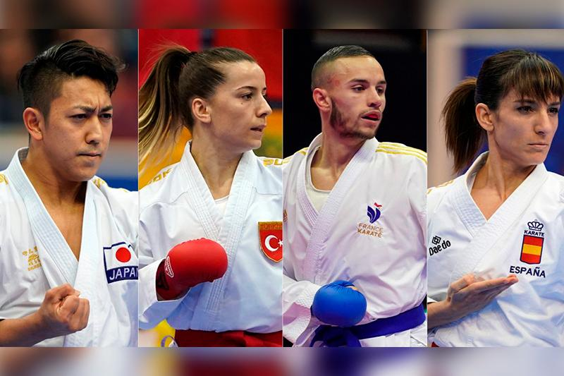 WKF announces first qualified athletes for Tokyo 2020
