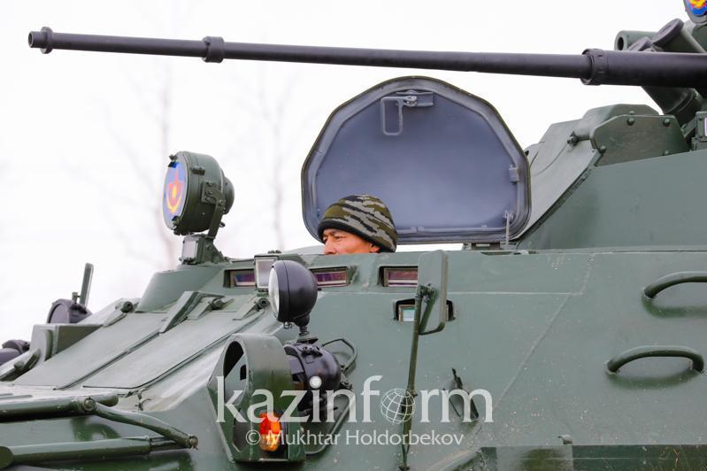Скопление военной техники вблизи Аягоза в ВКО прокомментировали в Минобороны РК