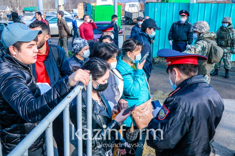 19 наурызда Алматыдан қанша адам шығып кетті