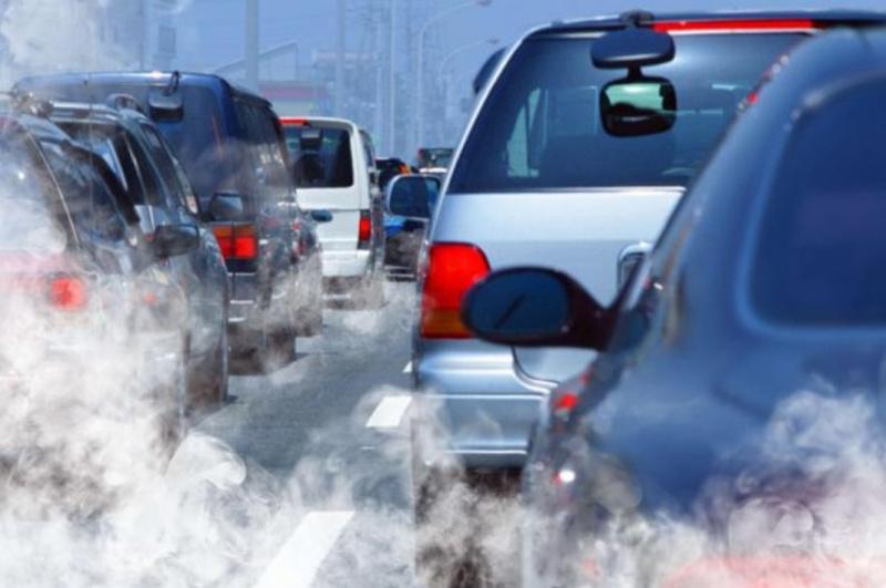 Жамбылских  водителей наказали за превышение выбросов загрязняющих веществ