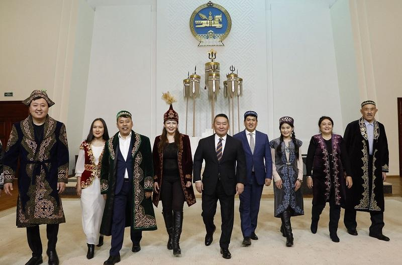 Моңғолия Президенті қазақ халқын Наурыз мейрамымен құттықтады