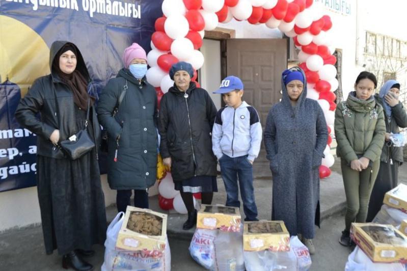 В Атырау открылся благотворительный центр «Ықыласты бауырлар»