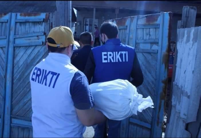 Біз біргеміз: Келес ауданында аз қамтылған отбасыларға көмек көрсетілді