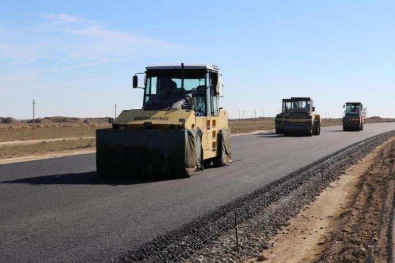 Проекты по строительству дорог в Казахстане реализуют в полном объеме