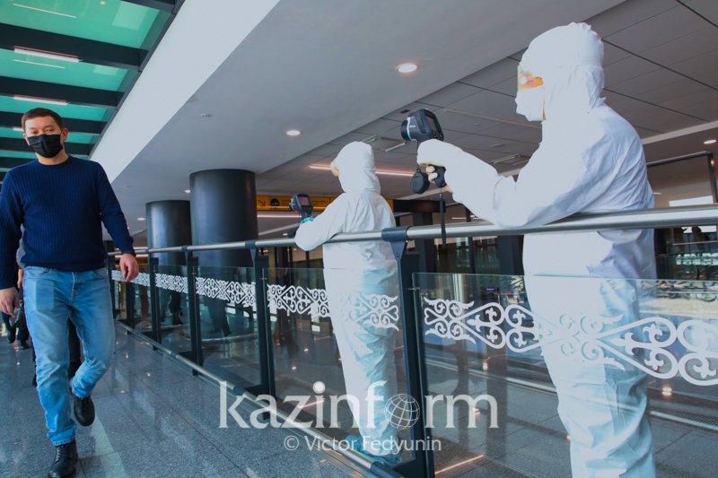 Shymkent qalasynda koronavırýs indetin juqtyrǵan 1 adam tirkeldi