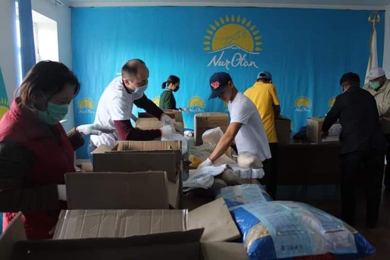 Туркестан: В рамках акции «Біз біргеміз!» будет оказана помощь 1500 семьям