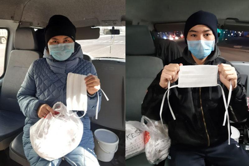 Центру детской реабилитации передадут сшитые мастерицами цехов «Астана опера» маски