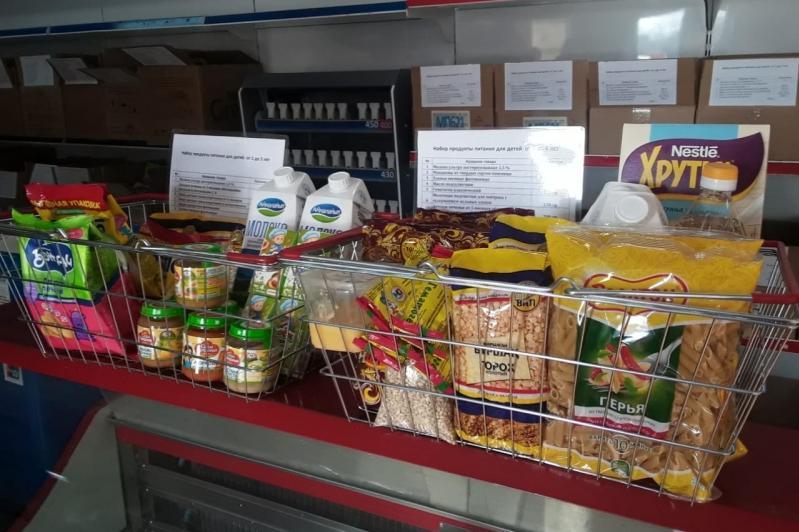 Доставка бесплатных продуктовых корзин через звонок в колл-центр 109 – фейк