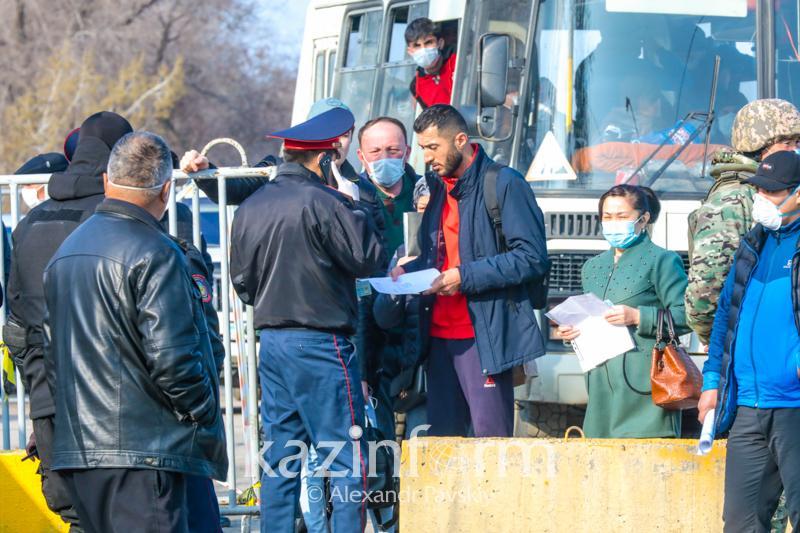 В Нур-Султане и Алматы внедрили приложение для учета въезжающих и выезжающих