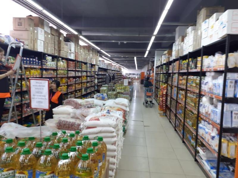 63 тысячи тонн продовольственных запасов имеется на складах Жамбылской области