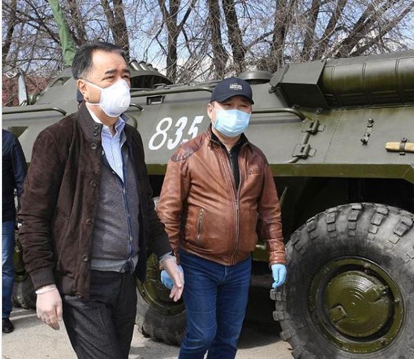Не все соблюдают ограничительные меры, подвергая риску горожан – Бакытжан Сагинтаев