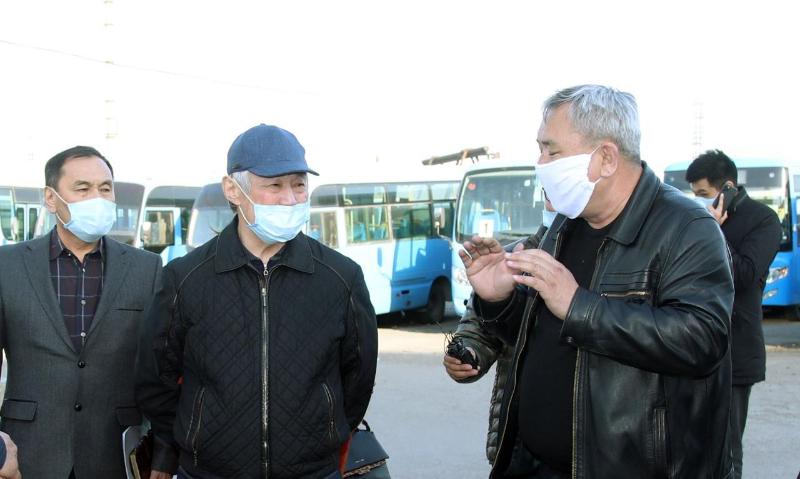 Бердибек Сапарбаев - о работе автоперевозчиков Тараза: Примем жёсткие меры