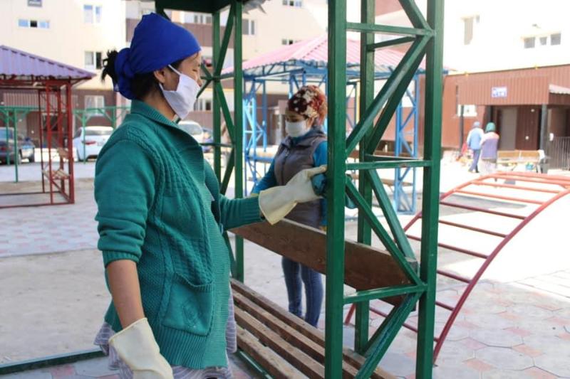 Жители общежитий Тараза сами провели дезинфекцию своего жилья