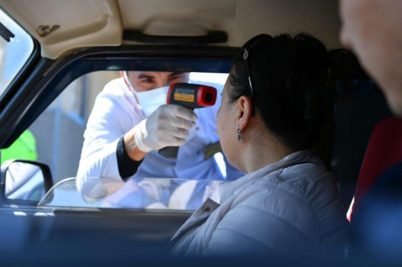 На блокпостах Туркестанской области выявлены граждане, которые могли заболеть COVID-19