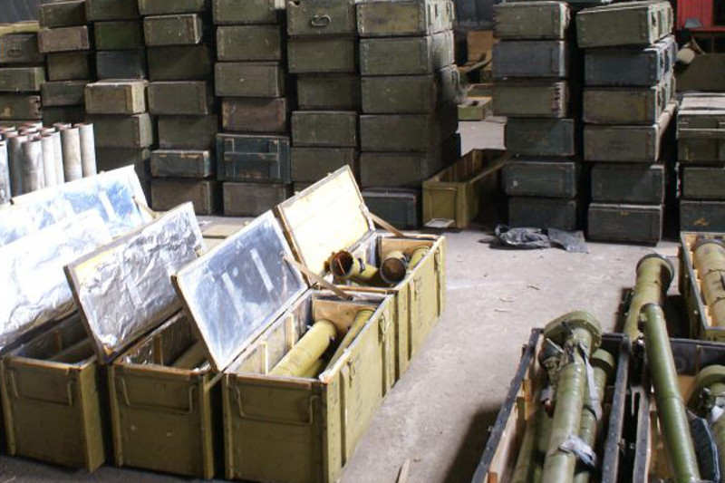 Законопроект по обеспечению безопасности военных складов одобрили мажилисмены