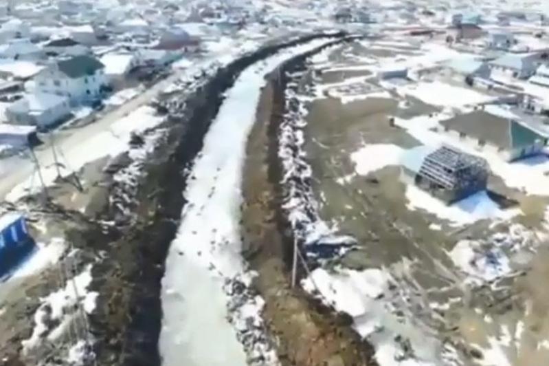 В Акмолинской области работают над безаварийным пропуском талых вод