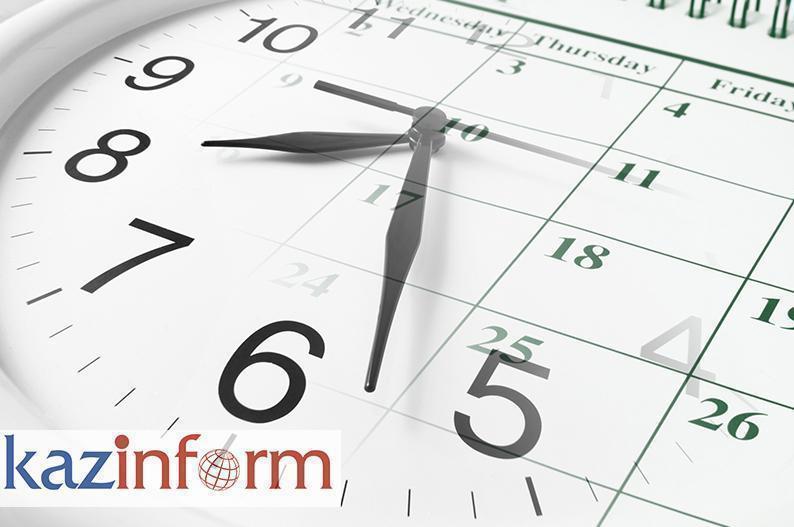 March 27. Kazinform's timeline of major events