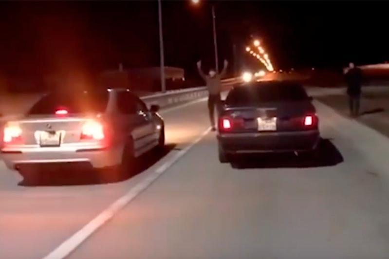Ночные гонки на трассе Алматы-Капшагай: водители задержаны