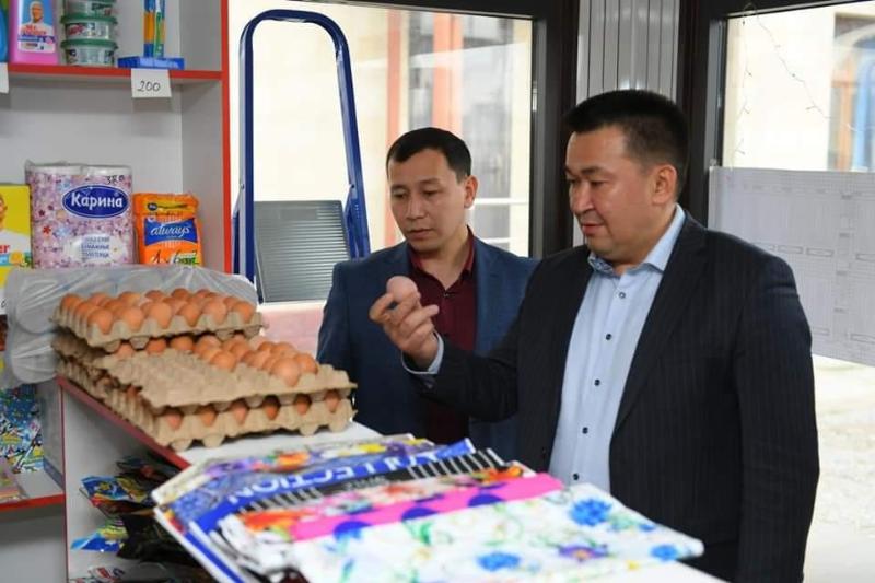 В Туркестанской области нет дефицита социально-значимых продовольственных товаров