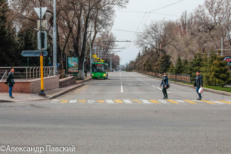 В Алматы ограничили передвижение по городу