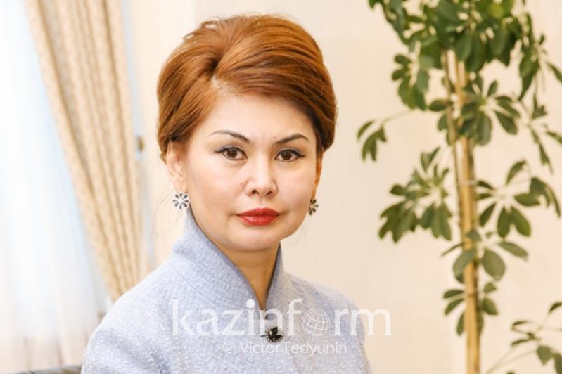 Назначение Гульшары Абдыкаликовой акимом Кызылординской области прокомментировала Аида Балаева