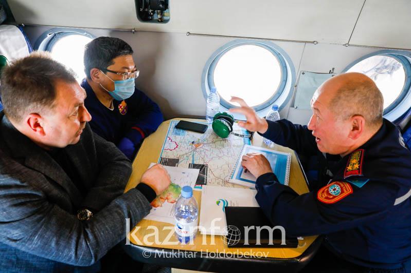 Перебросить силы с юга на север и центральный Казахстан намерено МВД к паводковому сезону