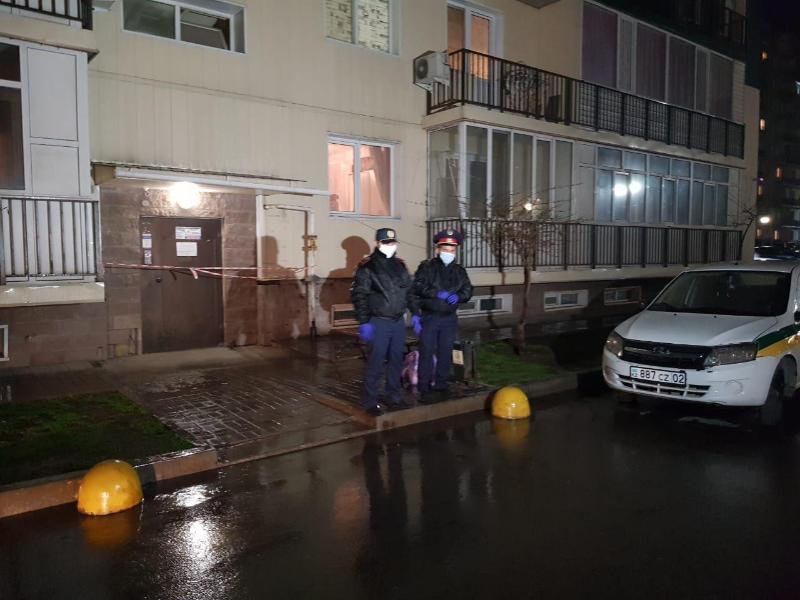 Алматы облысында тұрғын үй кешенінің бір бөлігі карантинге жабылды