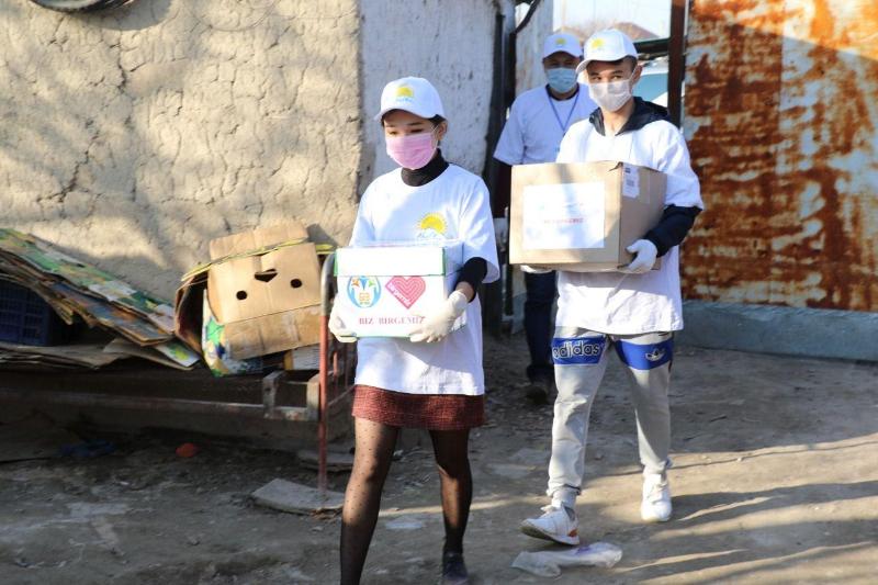 Алматы облысының Іле ауданында 3 мың отбасыға азық-түлік таратылуда