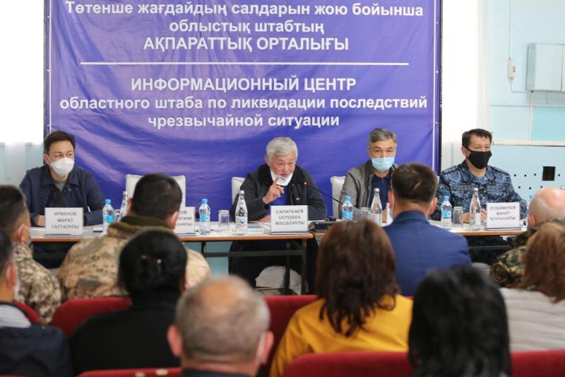 Власть выполнит свои обещания - Бердибек Сапарбаеввстретился с жителями Кордайского района