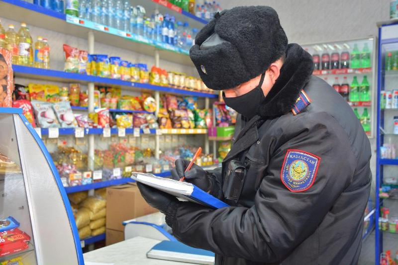 Более 30 предпринимателей наказали за нарушение режима ЧП в Северном Казахстане