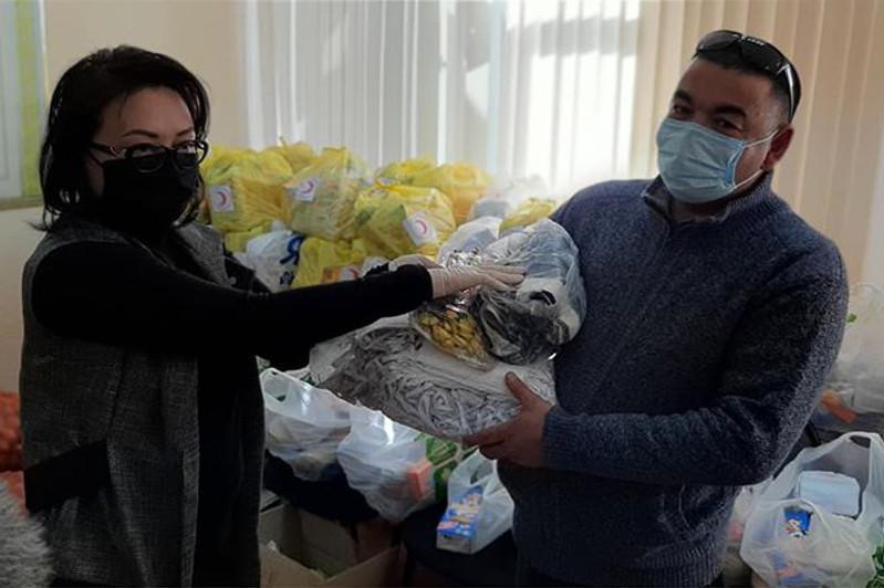 Помощь на сумму 1 млн тенге оказали актюбинские предпринимательницы