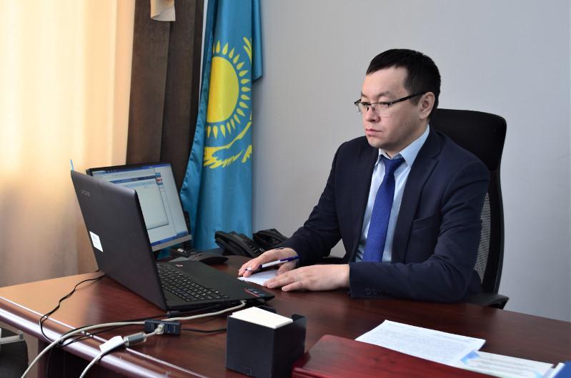 За госслужащими наблюдали онлайн в Акмолинской области
