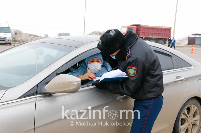 Столичные полицейские патрулируют улицы в период  карантинных мероприятий